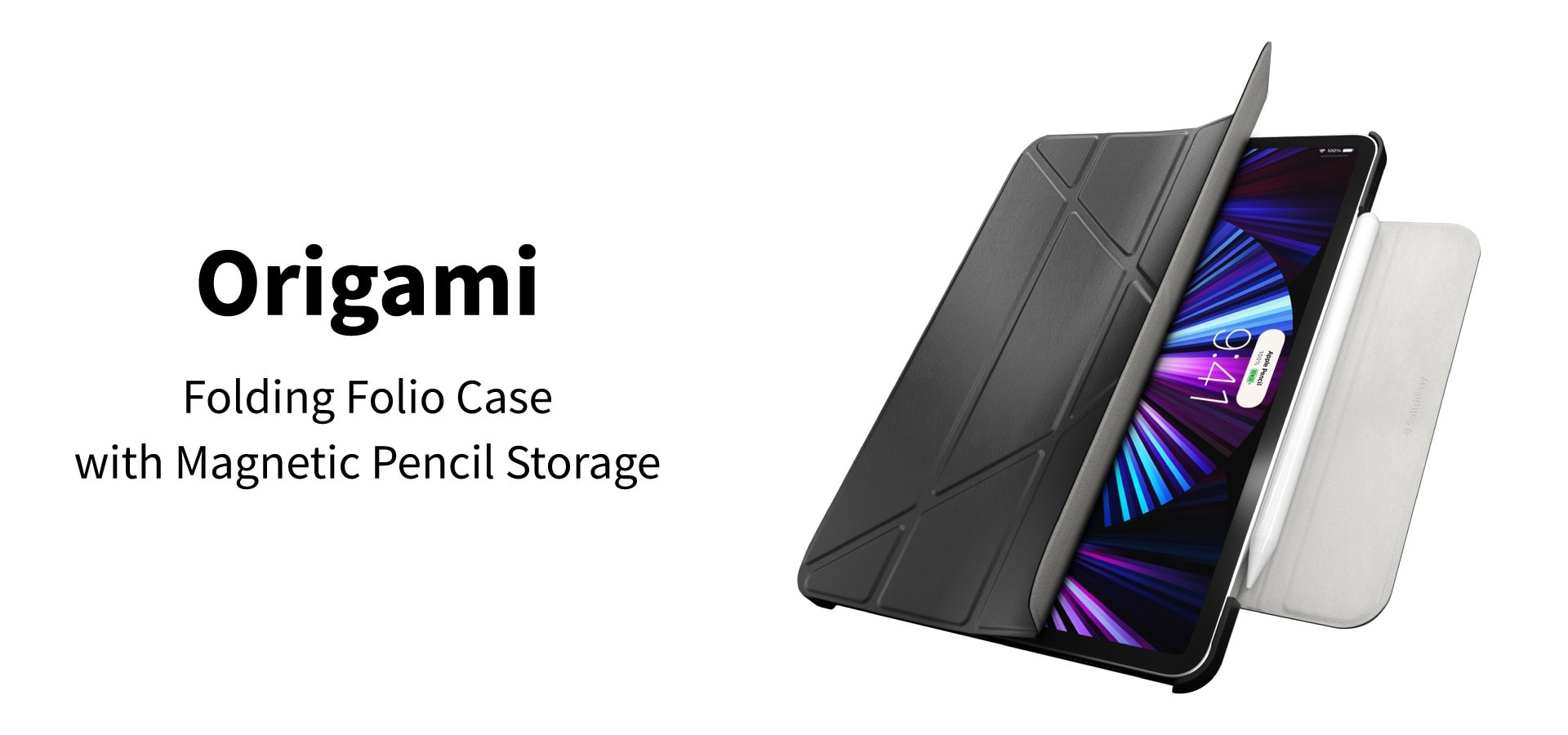 Origami Protective Case giveaway: This unique iPad case folds into a convenient stand