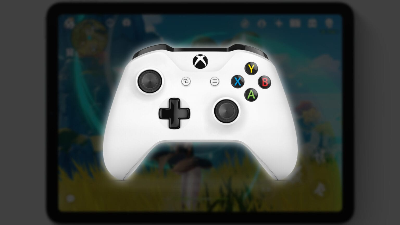 Xbox Controller with iPad