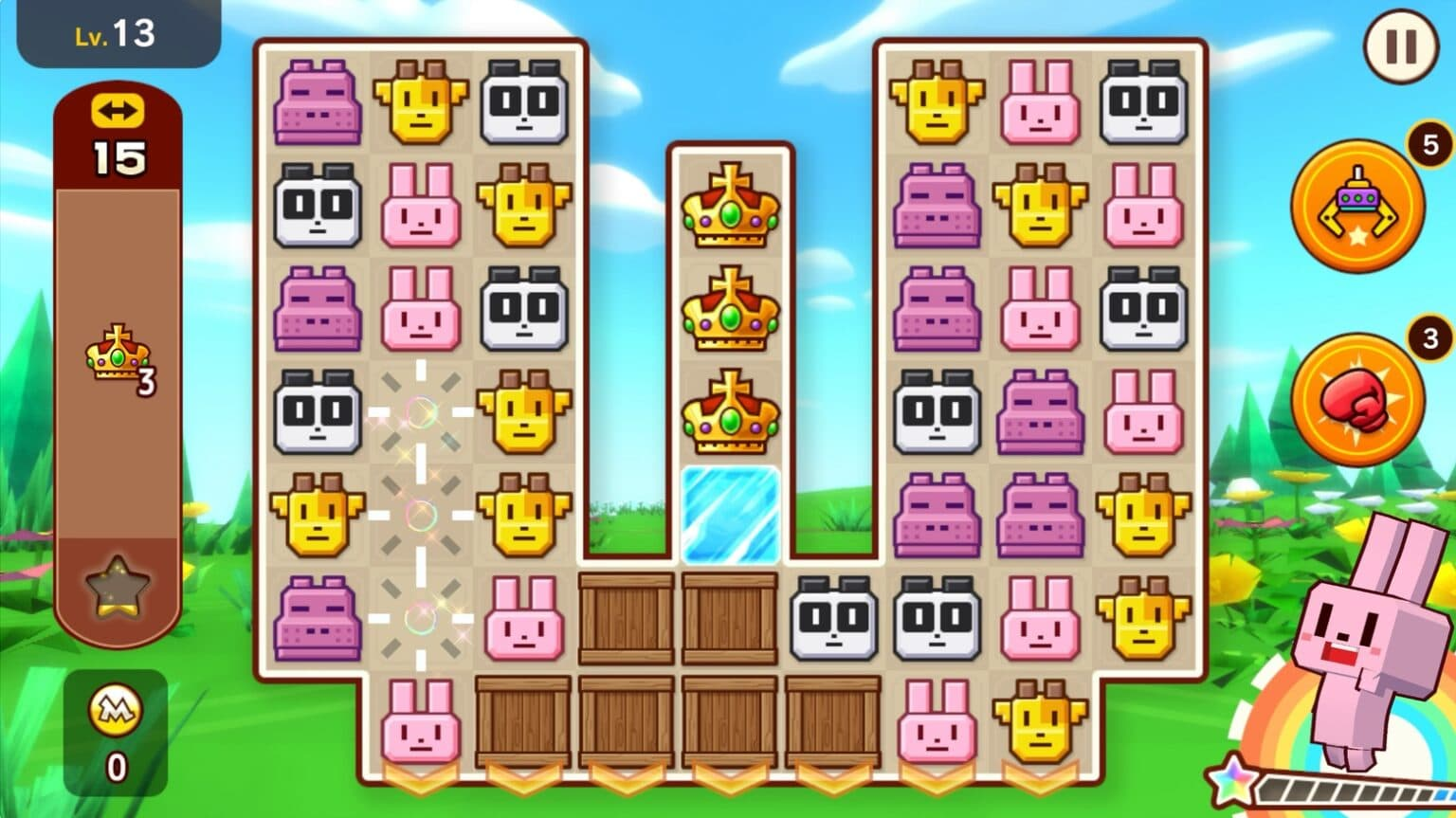 Solve puzzles, collect cute animals in 'Zookkeeper World' on Apple Arcade