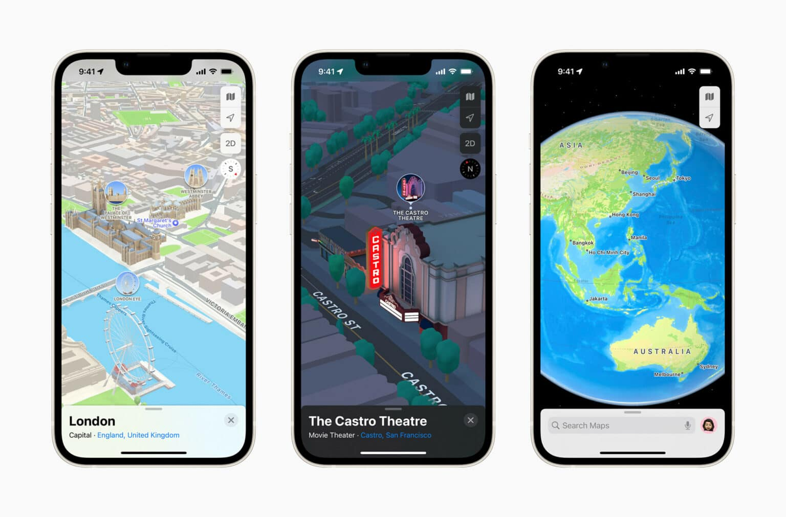 The iOS 15 updates to Apple Maps include 3D imagery and much more.