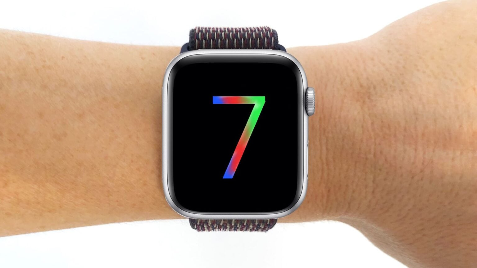 This is not an Apple Watch Series 7.