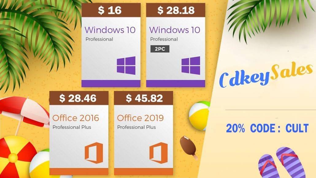 Get deep discounts on software activation keys at CdkeySales.com