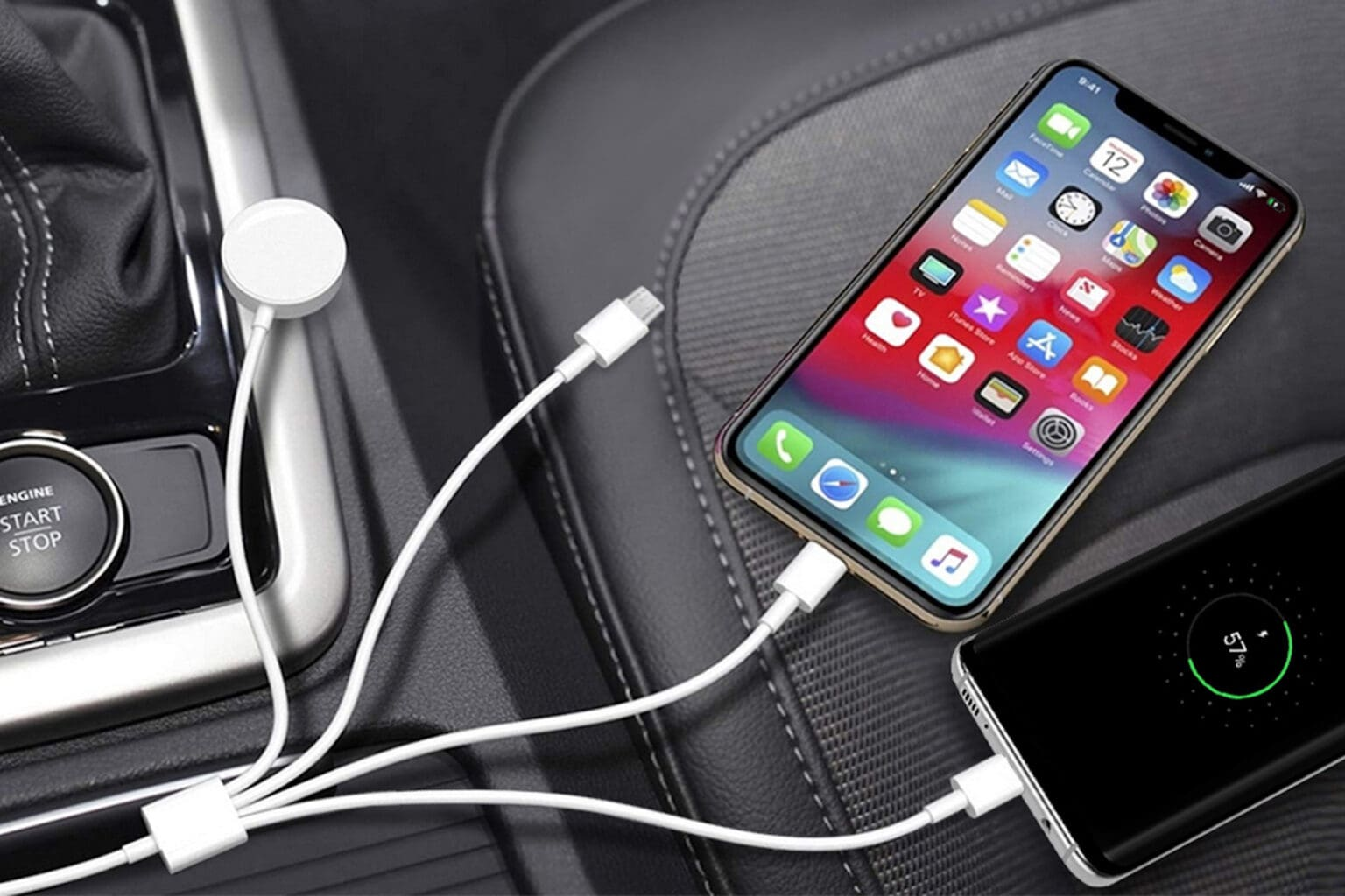 This 4-in-1 Apple charger powers up all your devices.