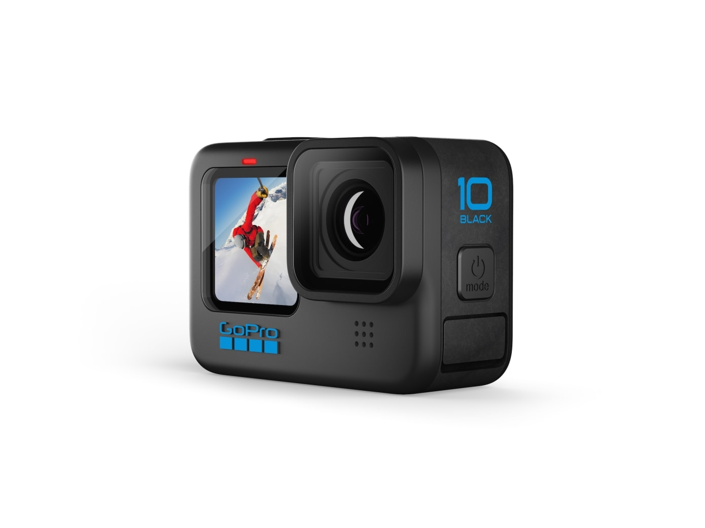 The GoPro Hero10 Black action camera features a new processor.