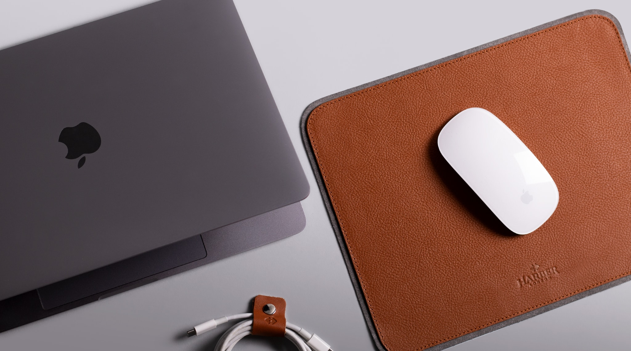 Is your mouse worthy of Harber London's leather mouse pad?