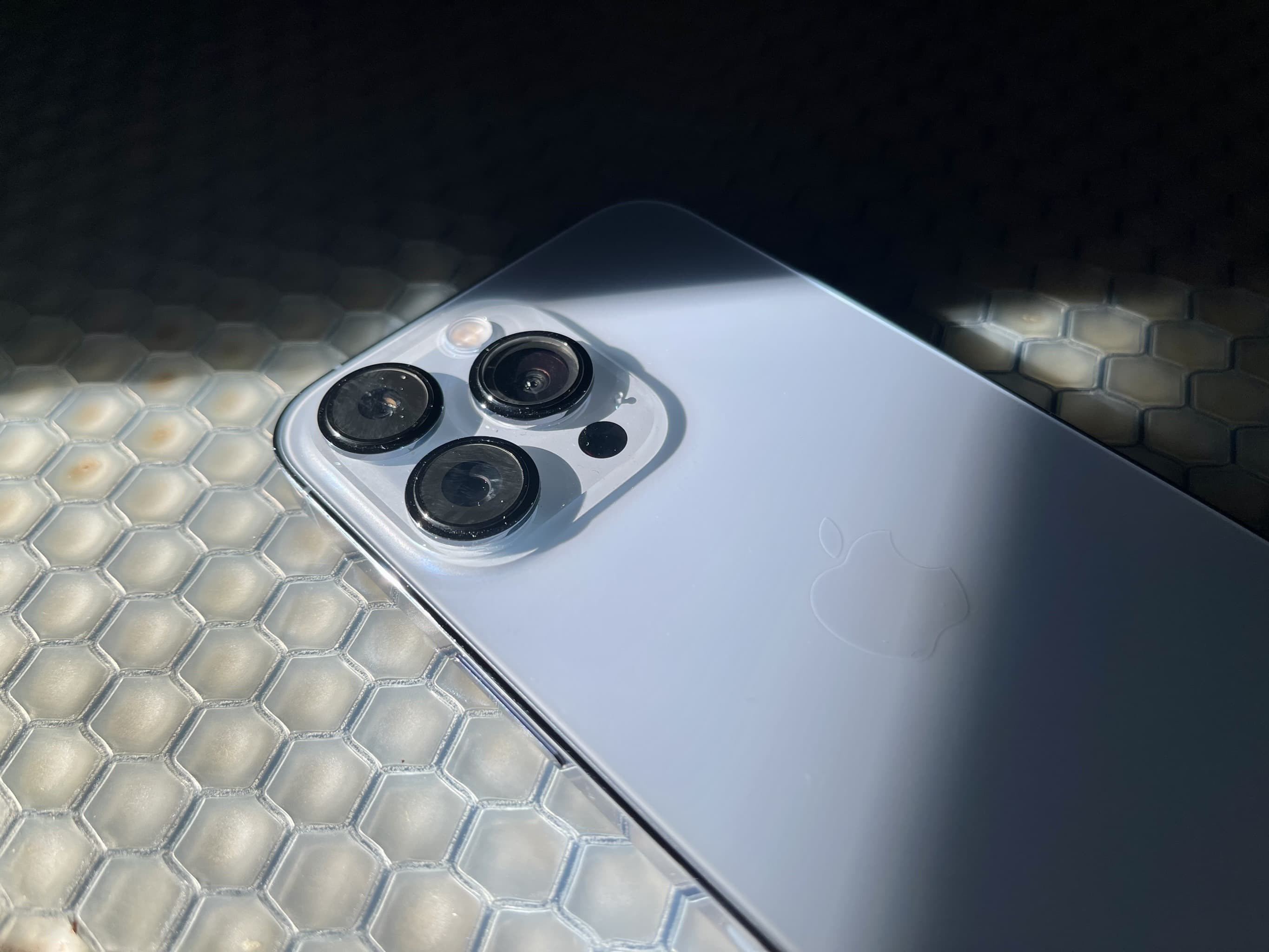 Personally, I love the iPhone 13 Pro's camera module. And no, it doesn't induce trypophobia