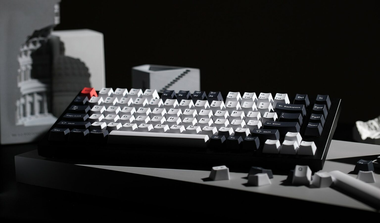 Even a beginner can customize the new Keychron Q1 mechanical keyboard.