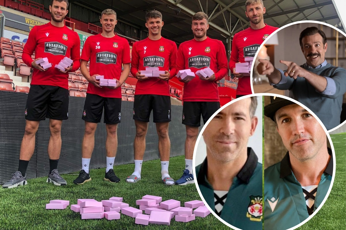 Wrexham AFC players will have to pace themselves with all those biscuits.