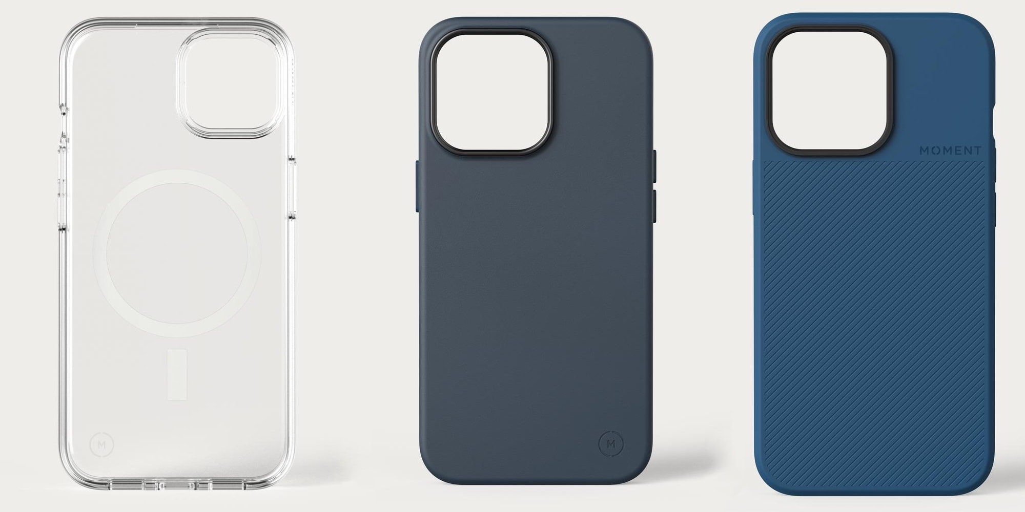 Moment offers three new cases for the iPhone 13 series.