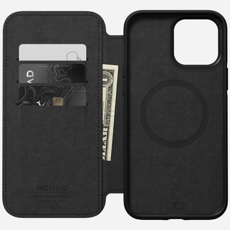 Nomad's new iPhone 13 cases let you store and share business-card information.