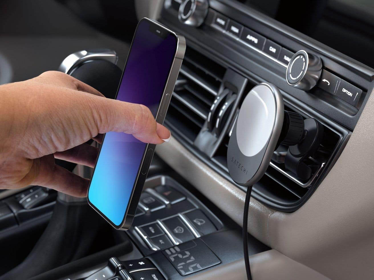 Charge up your iPhone 12 or 13 while you navigate with it in the car.