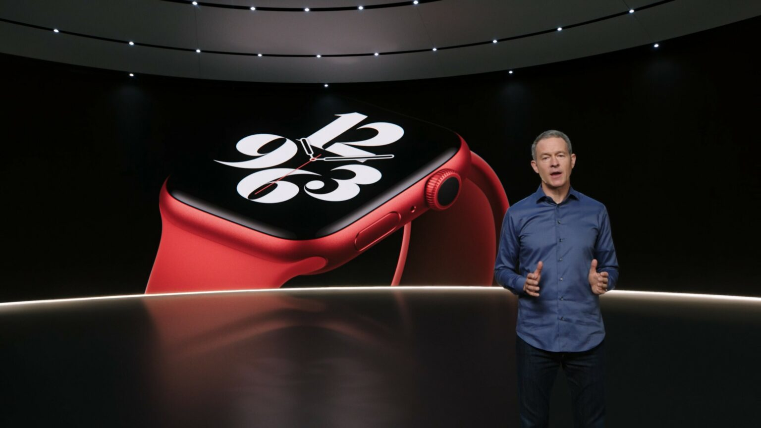For the first time, there's a Product Red Apple Watch.