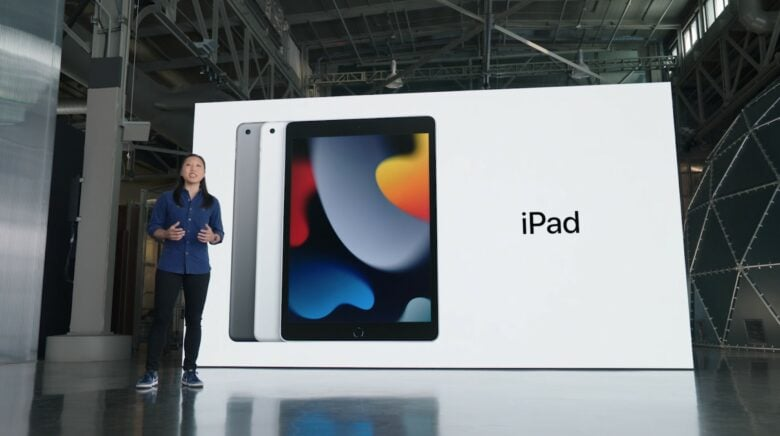 Apple California Streaming event: The new iPad gains some of the iPad Pro's tricks.