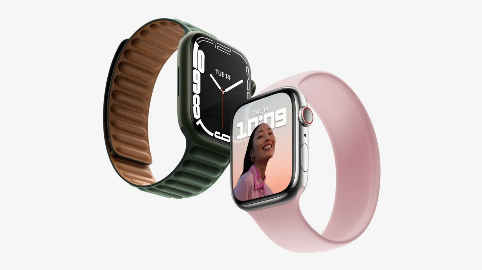California Streaming event: Apple Watch Series 7 packs a bigger, more durable screen.
