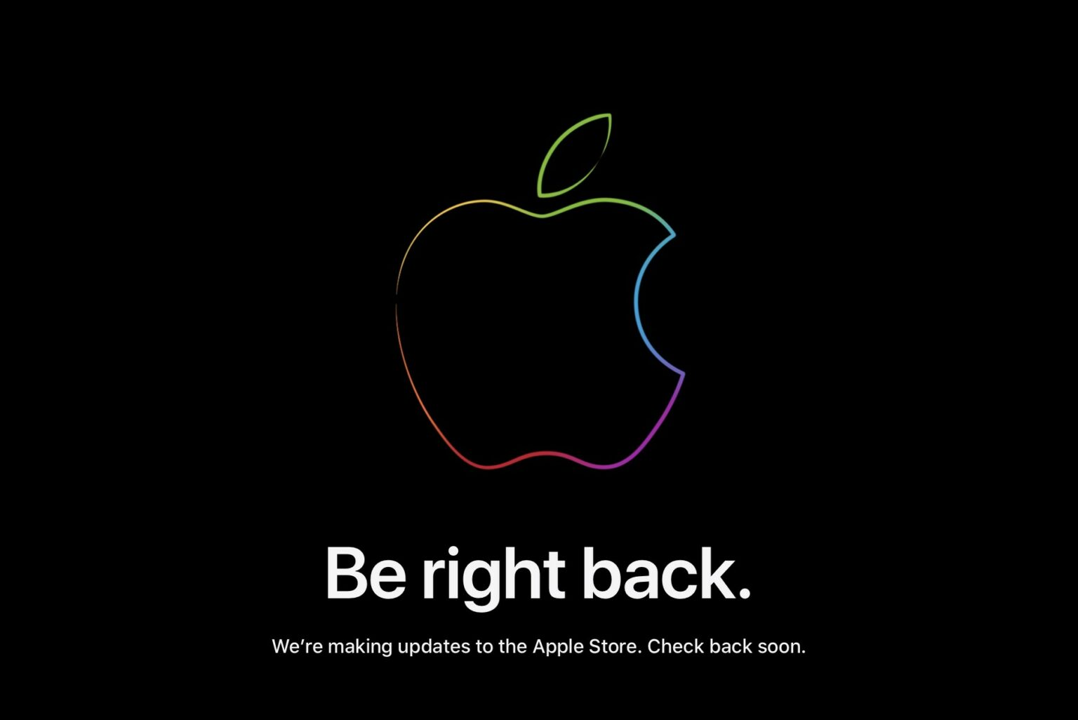 Apple Store down iPhone 13