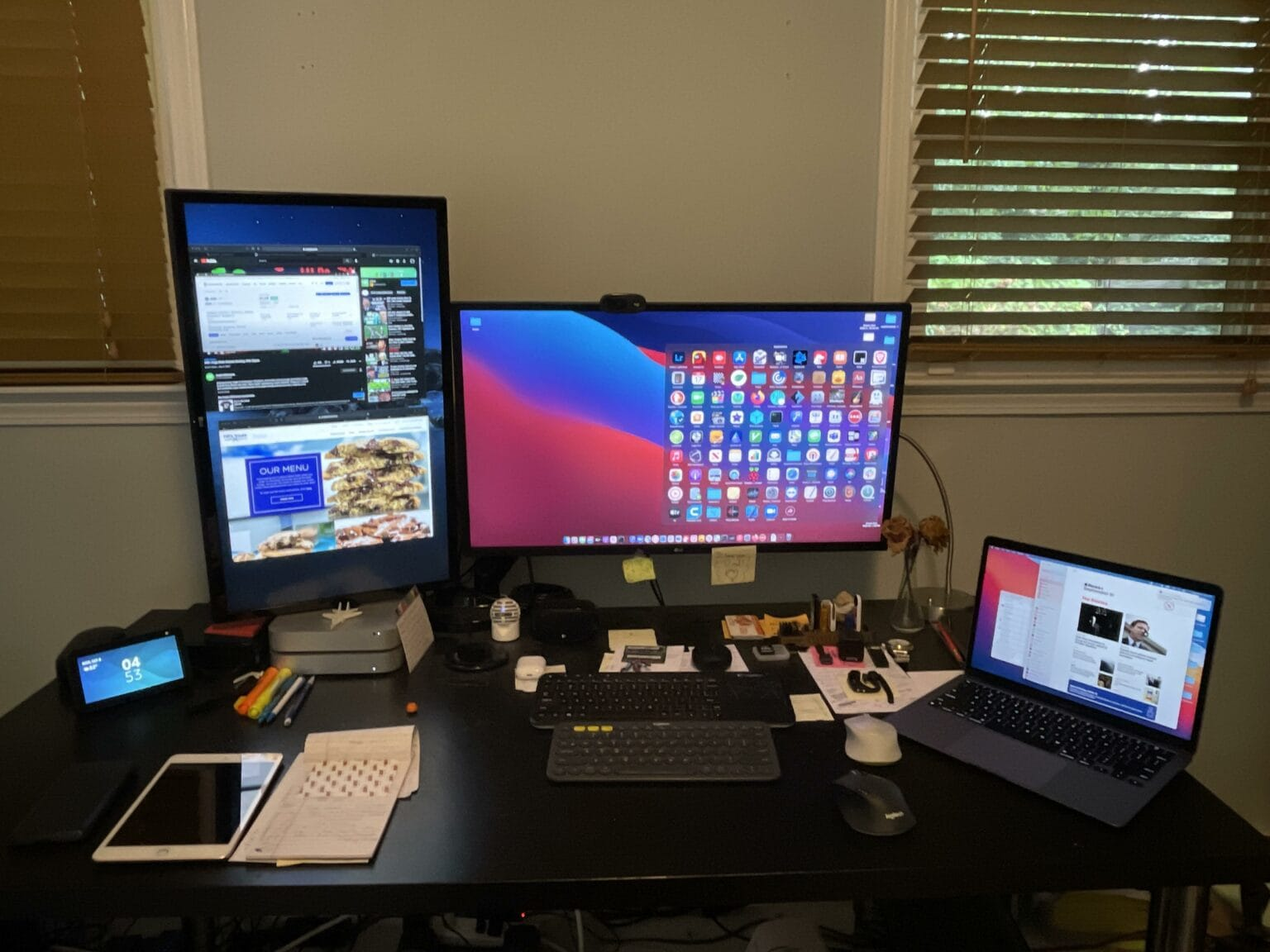 How would you manage so many devices and screens?