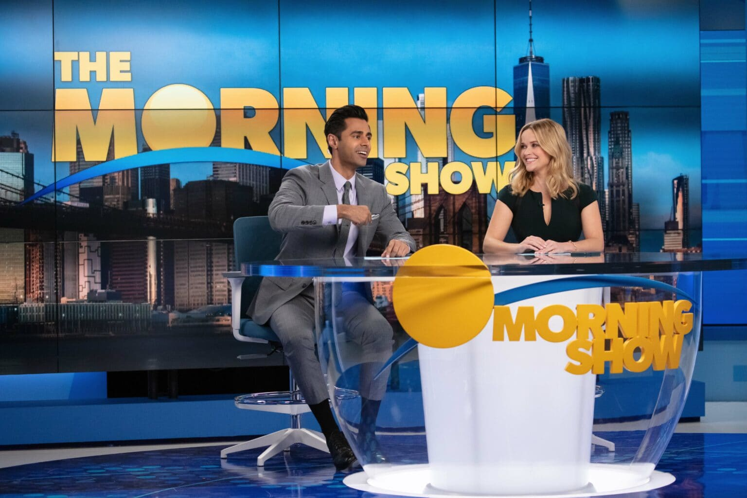 Hasan Minhaj and Reese Witherspoon returns to The Morning Show
