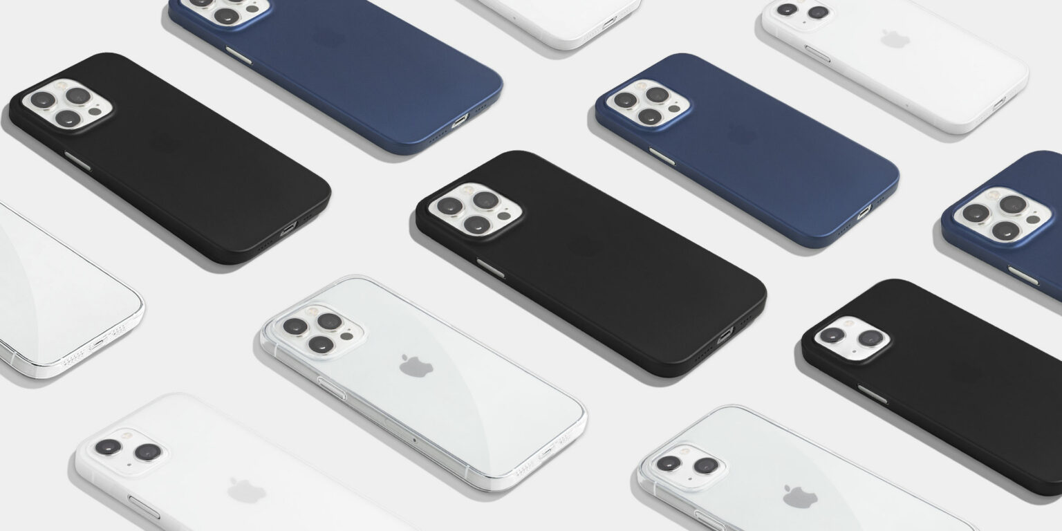 Totallee's iPhone 13 cases are thin and light.