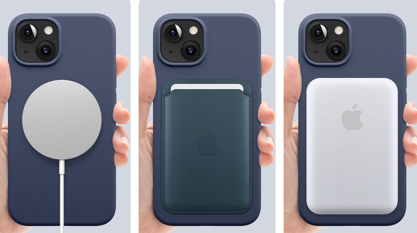The MagSafe Silicone Case is just one of many cases Elago offers for iPhone 13.