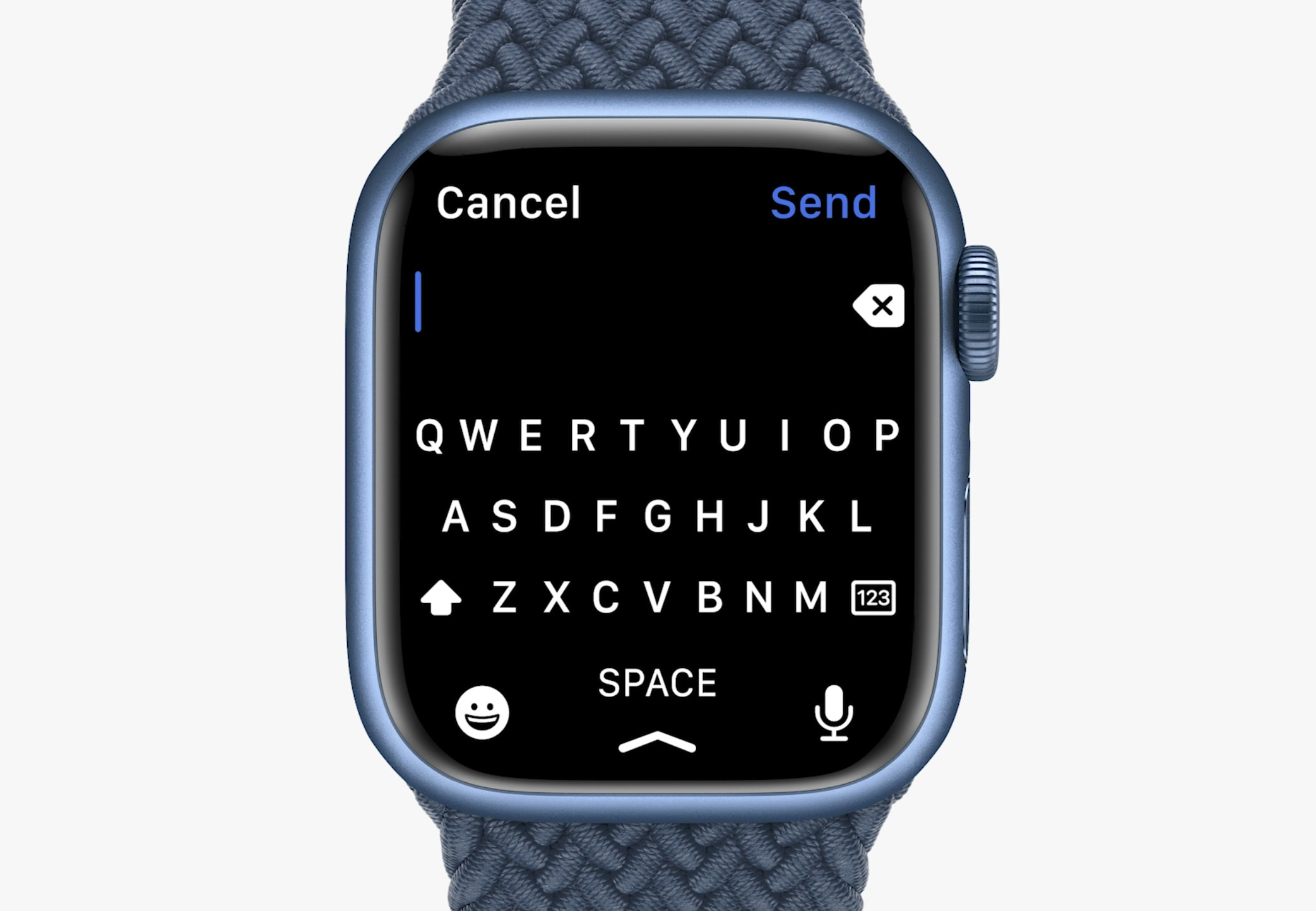 Apple Watch Series 7 includes an onscreen keyboard. Yes, really.