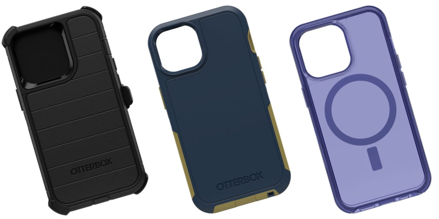 OtterBox iPhone 13 cases range from sleek to tough.
