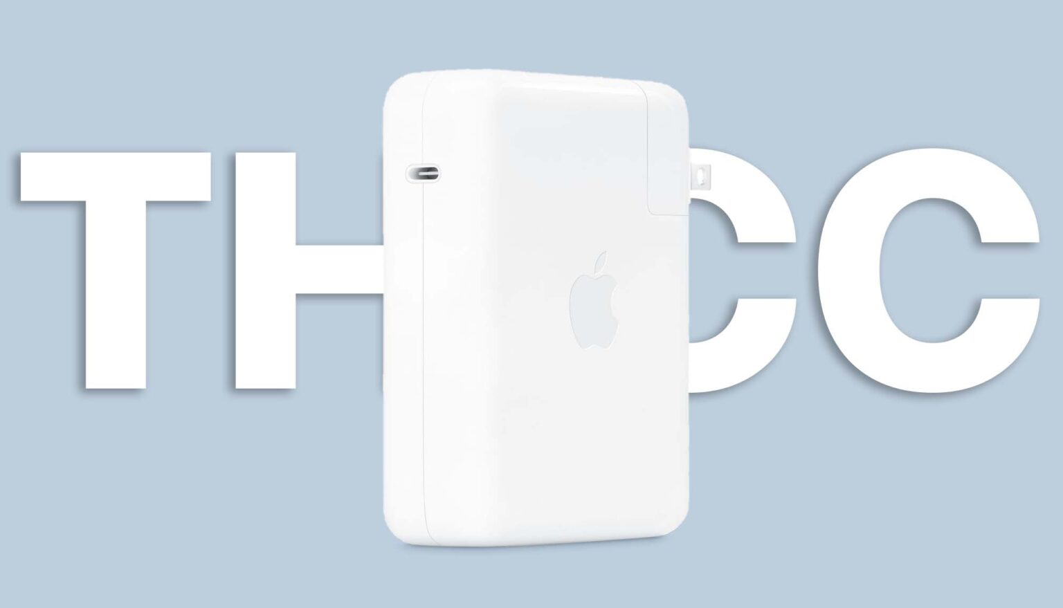 Apple's very thick 140W Charging block
