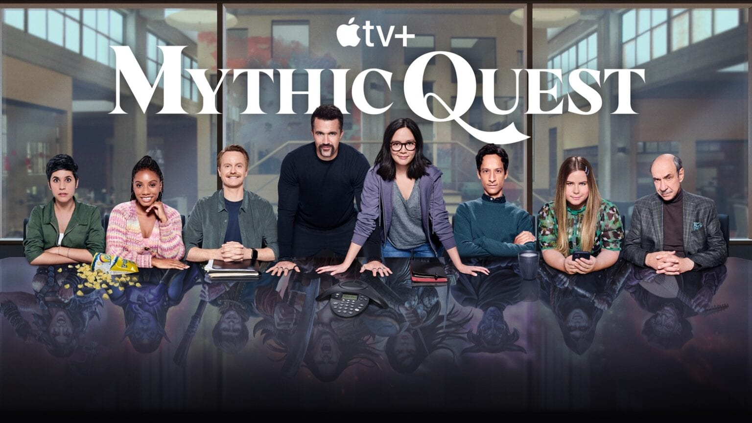 Great news, gamers! Apple TV+ renews 'Mythic Quest' for two more seasons