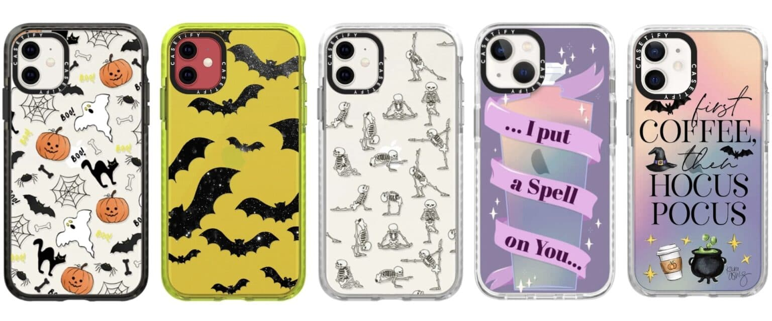Casetify Halloween cases for iPhone