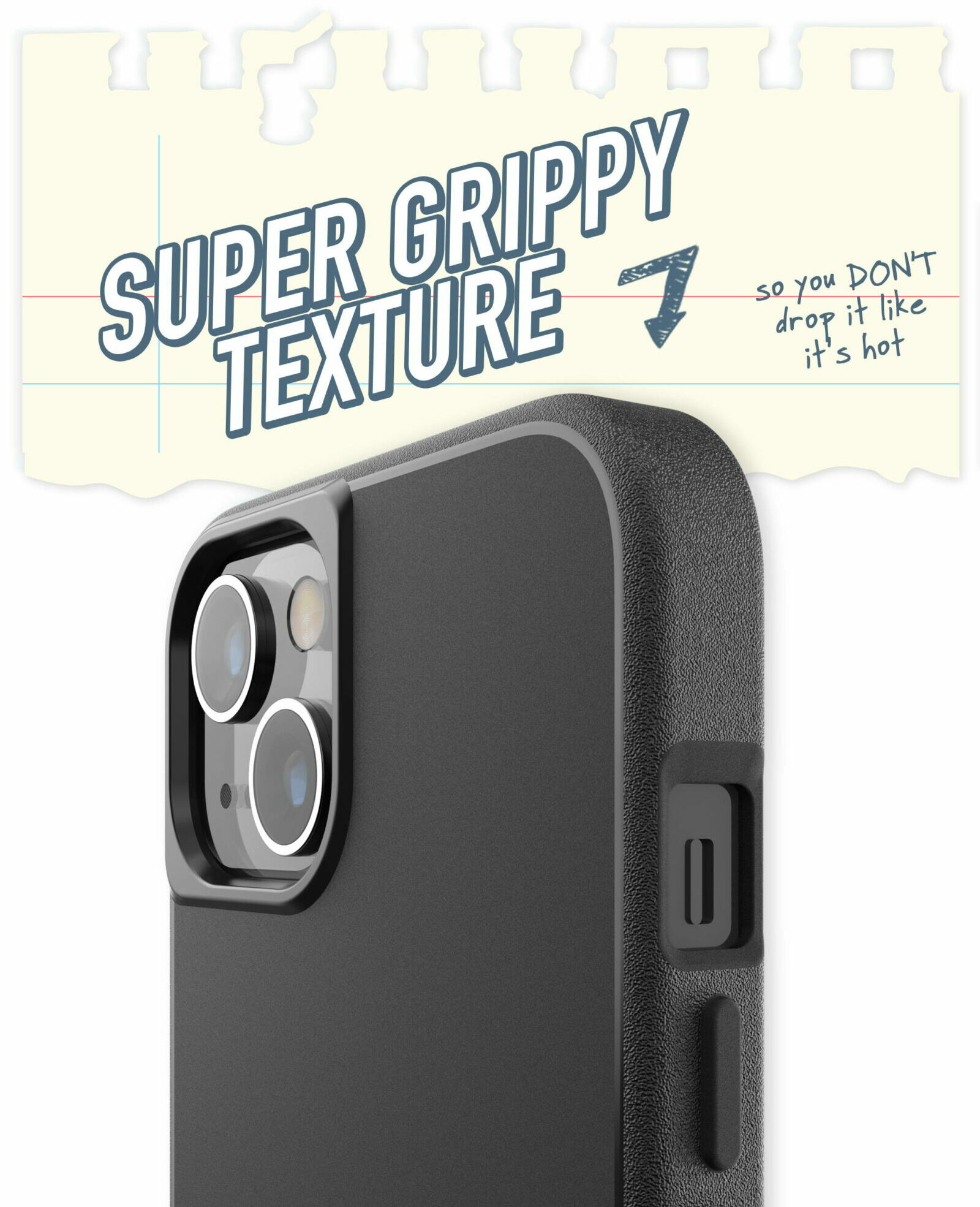 Gripmunk with MagSafe Slim Case giveaway: This case's extremely grippy texture means fewer toilet fails.