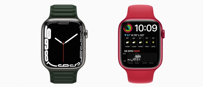 'Contour' and 'Modular Duo' faces for Apple Watch Series 7