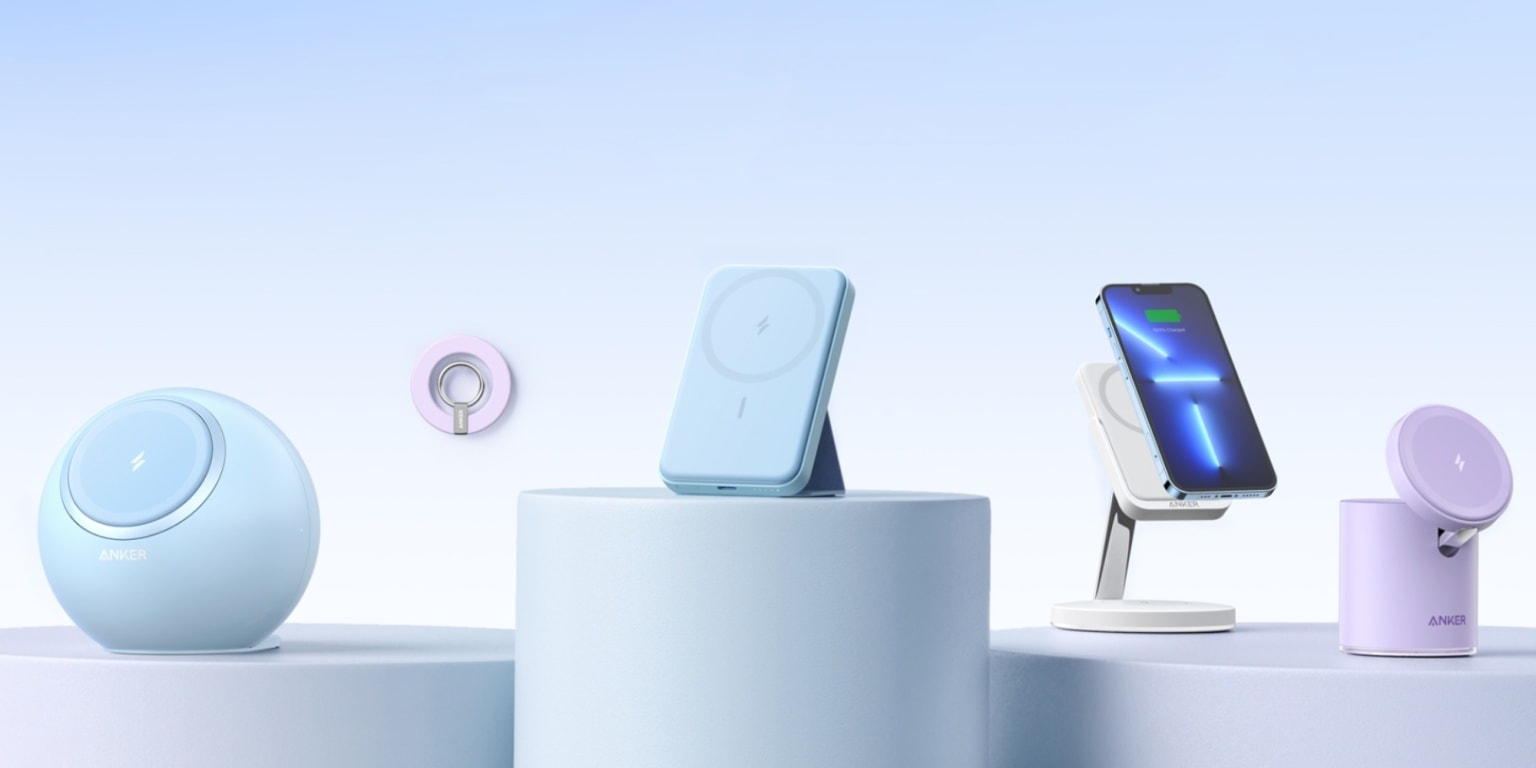Anker launched six new chargers for iPhone 12 and 13.