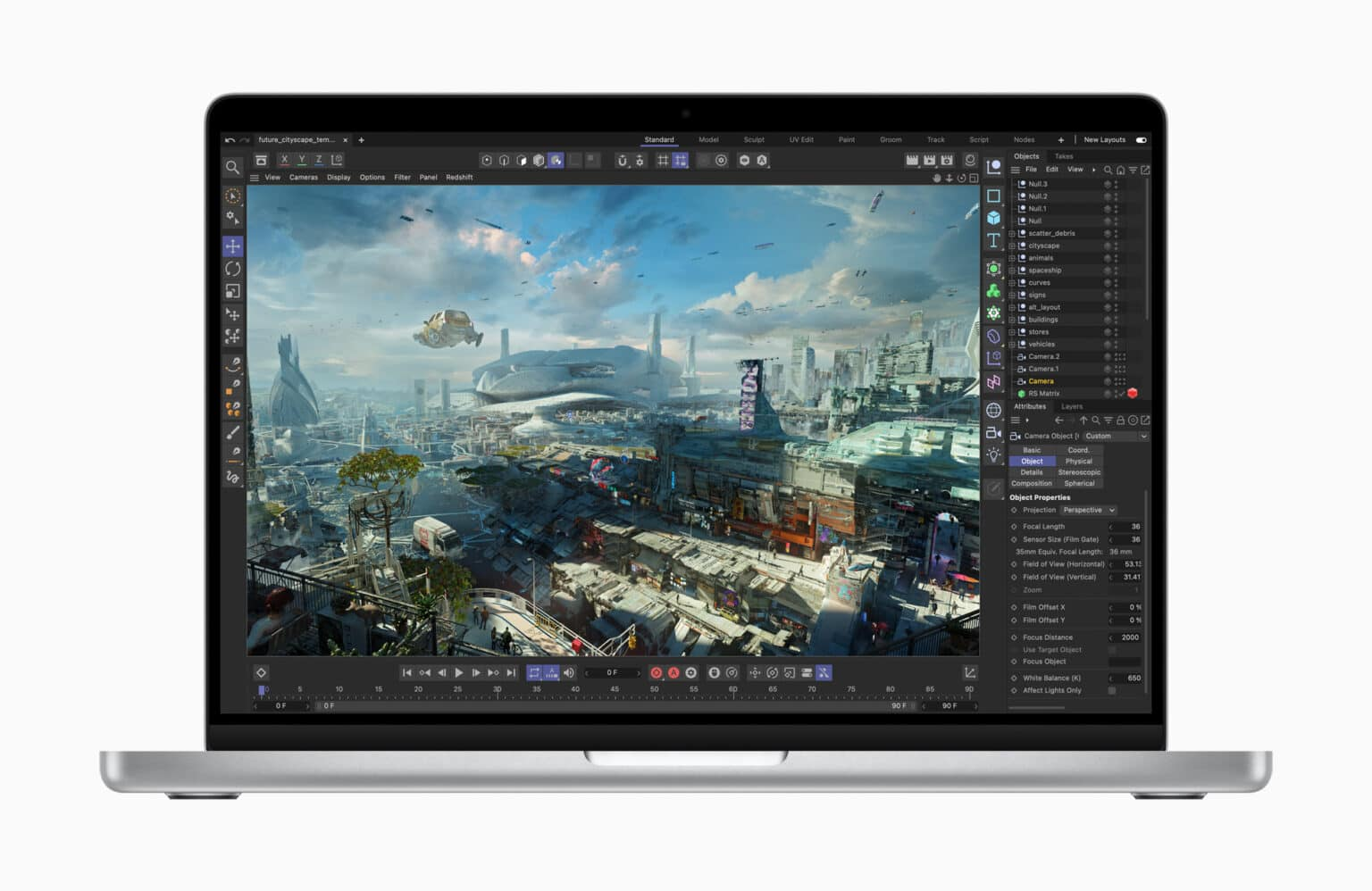 2021 MacBook Pro with M1 Pro and M1 Max chips