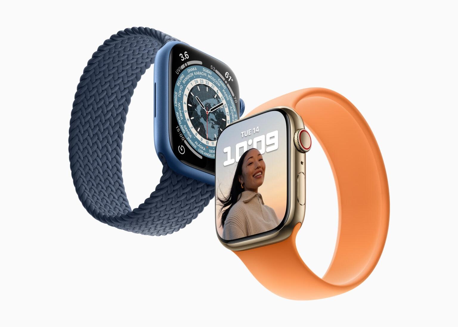 Apple Watch 7 preorders start October 8
