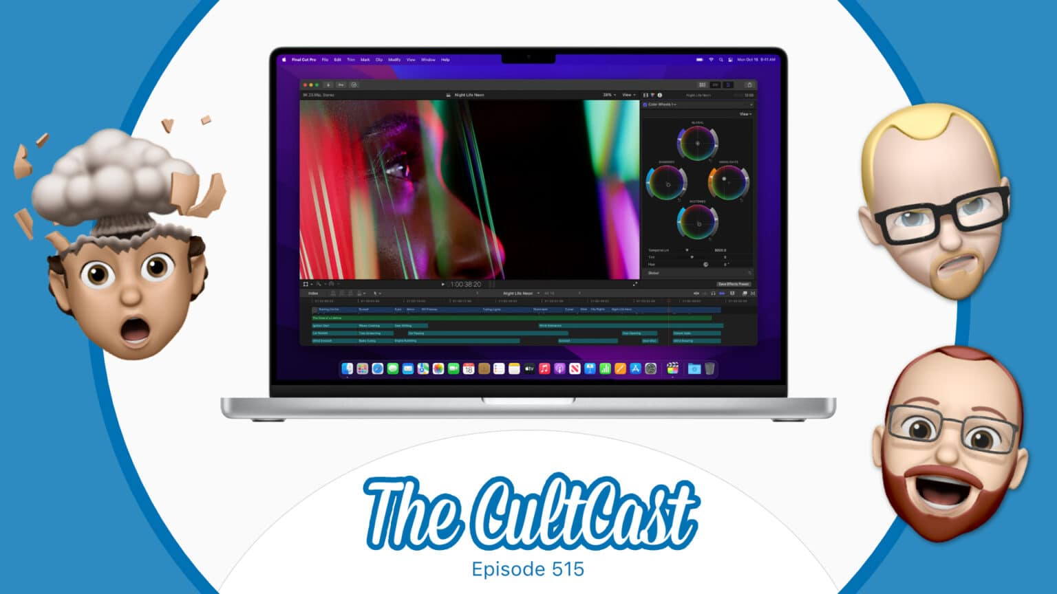 The CultCast 515: We can't stop gushing about the new M1 Max MacBook Pros.