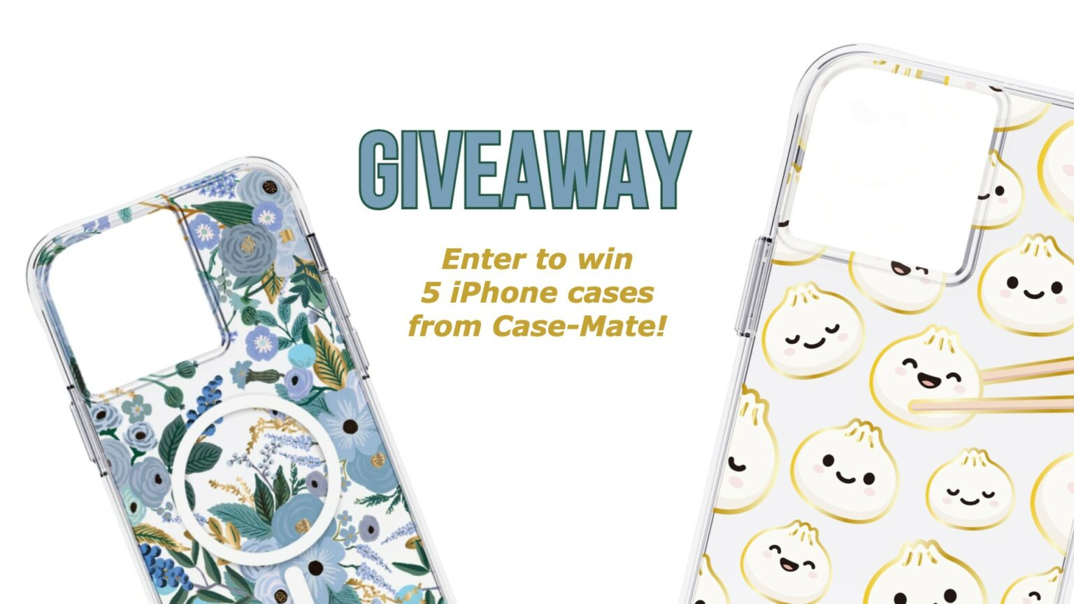 Case-Mate iPhone 13 cases giveaway: Enter to win a bundle of five gorgeous iPhone cases from Case-Mate.