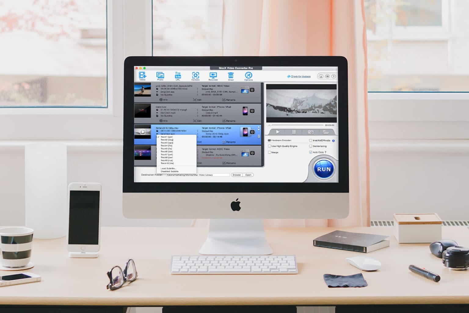 Download and transfer videos between your Mac easier than ever.