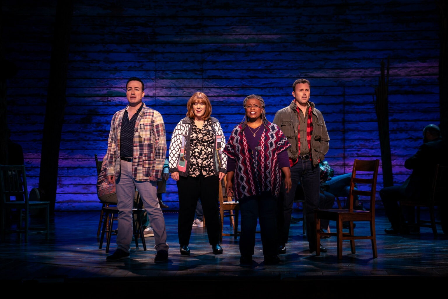Come From Away review: On 9/11, the small town of Gander rises to the occasion.