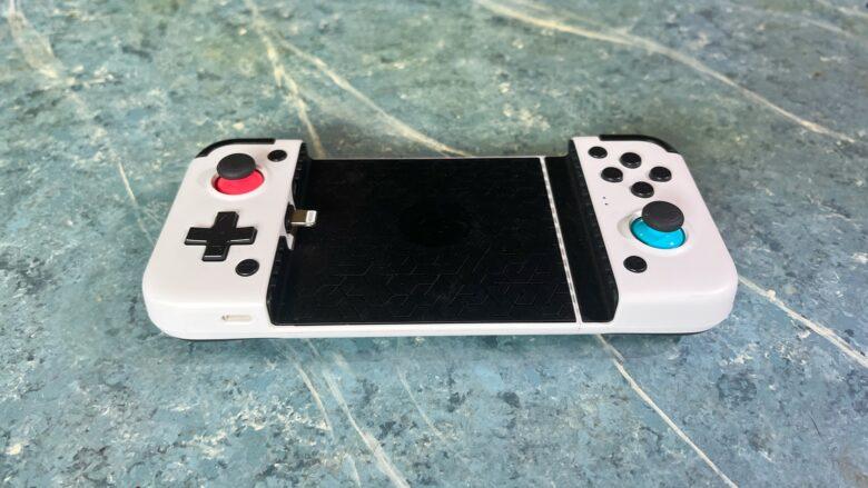 GameSir X2 Lightning Mobile Gaming Controller side view.