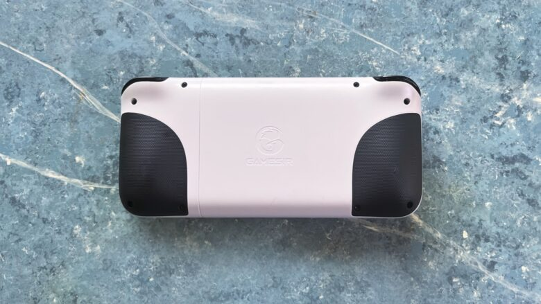 GameSir X2 Lightning Mobile Gaming Controller back view.