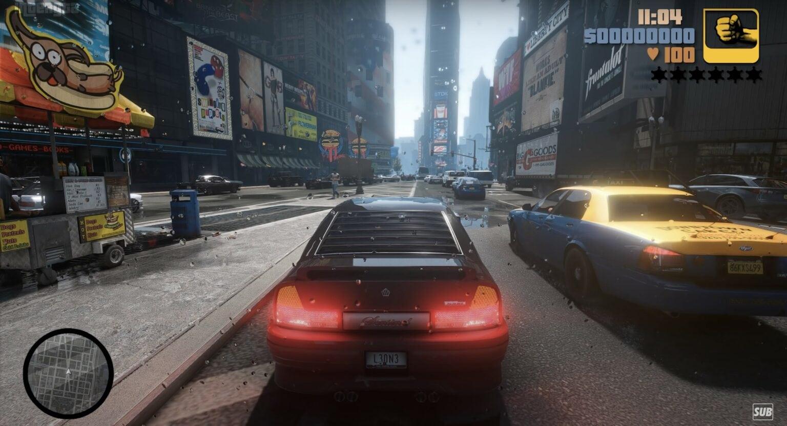 GTA III remastered concept