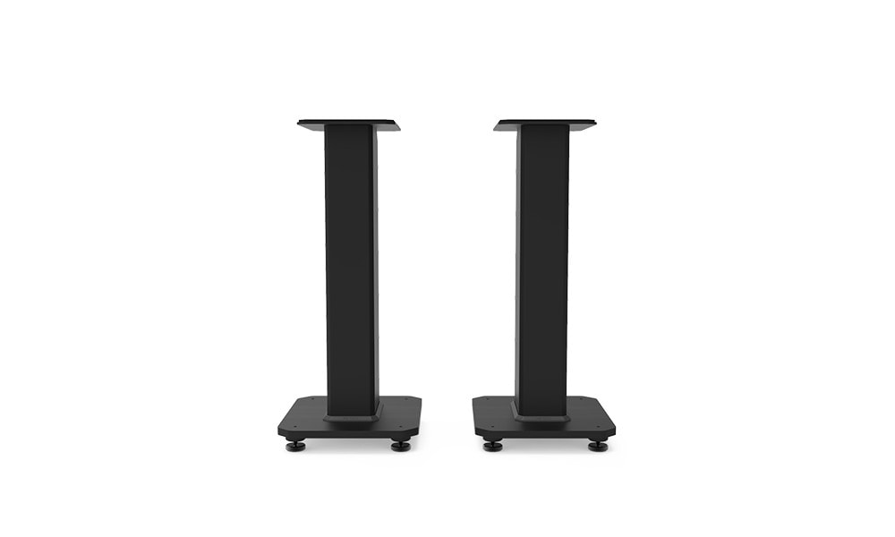 Kanto's SX series stands can help with audio clarity as well as cable management.