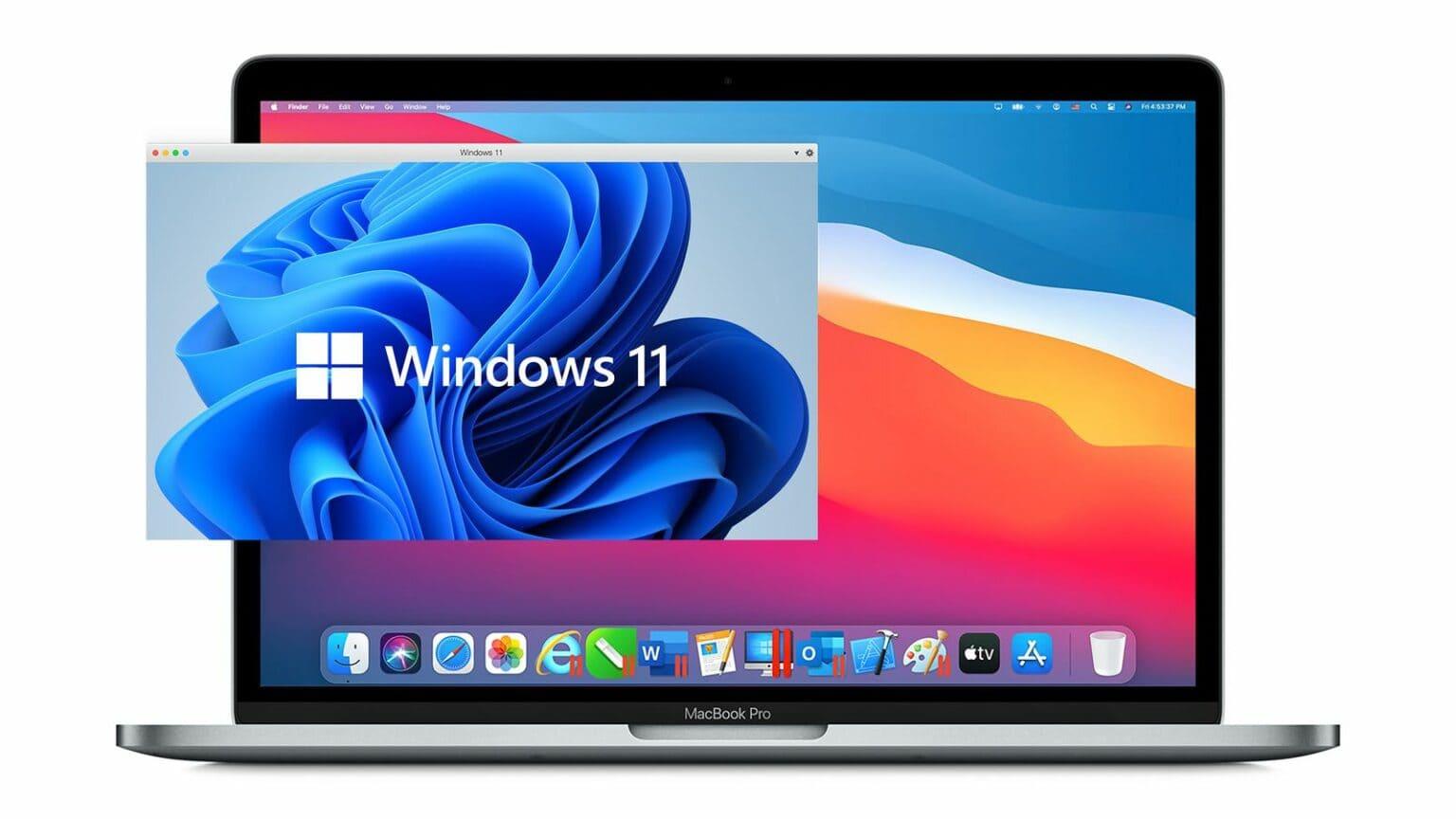 Parallels Desktop with Windows 11