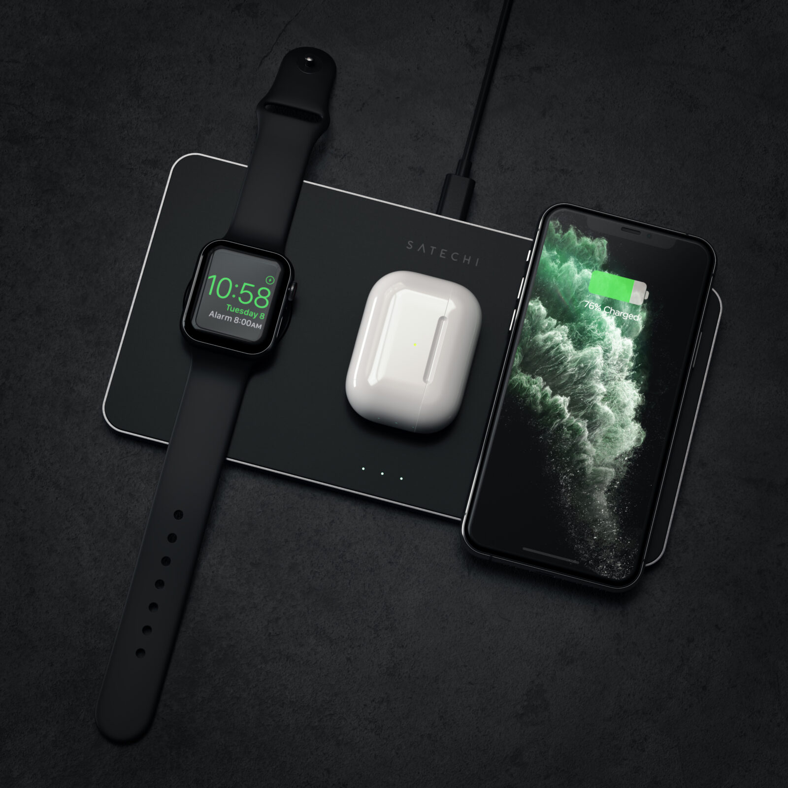 Photo of Win a sleek Satechi Trio wireless charger [Cult of Mac giveaway]