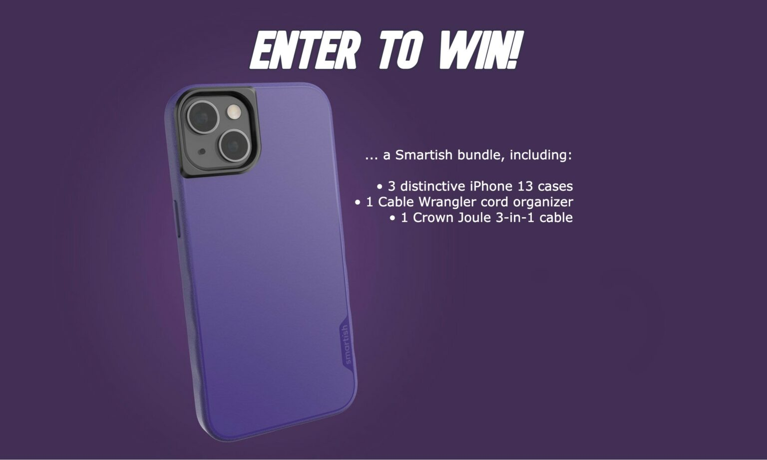 Win an iPhone 13 case bundle from Smartish [Cult of Mac giveaway]