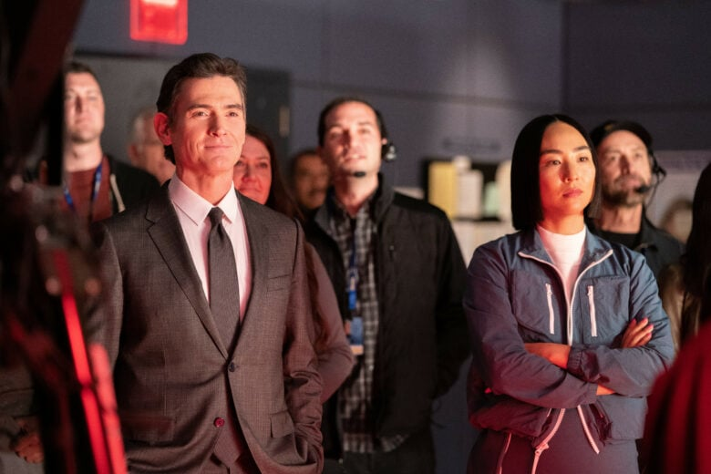 The Morning Show review: Billy Crudup, left, is still the strongest part of this show.