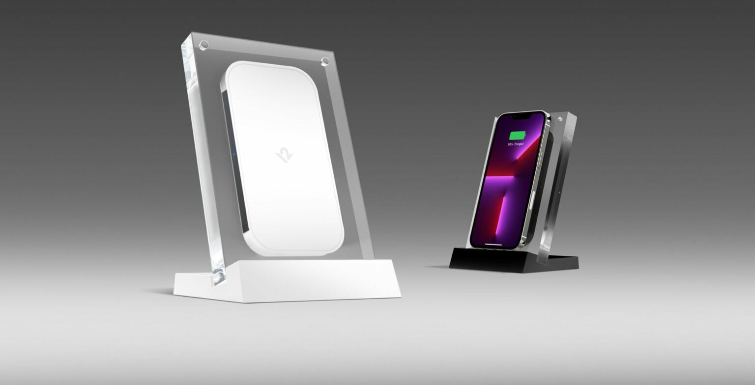 Twelve South's PowerPic Mod Wireless Charger looks like an unassuming piece of decor.